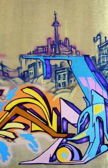 The Pop Culture of Graffiti in Toronto | torontartsgirl