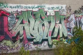 The deceased graffiti artist known for his tag alpha in Toronto